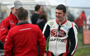 North West 200 practice night 17th May 2011.Michael Dunlop.