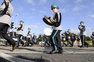 Marching bands in Belfast celebrate 100 years since the signing of the Ulster Covenant