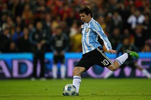 <b>Lionel Messi (Argentina)</b><br/> There's nothing that the best player in the world can't do - and that includes curling the ball into the top corner of the net. Yet the little maestro may not have had his chance to impress with the dead-ball if it wasn't for Diego Maradona's falling out with Juan Roman Riquelme. The former Villarreal midfielder scored a pair of majestically-struck set-pieces during qualification and was a shoe-in to take the free-kicks, but Maradona's refusal to pick him led to Riquelme announcing his international retirement earlier this year. Messi will step up and the world will take a deep breath - can the Barcelona man prove himself The Greatest beyond all doubt?