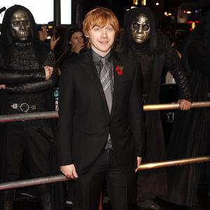 Rupert Grint says he didn't feel he had to hit the gym to prepare for the latest Harry Potter movie