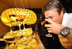 Graeme McDowell's after party at the Ramore Wine Bar