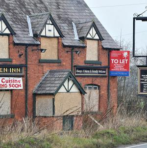 Eight pubs closed every week in towns between last September and March, Camra said