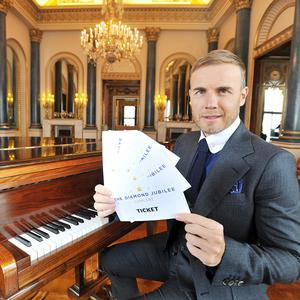 Gary Barlow is helping to organise the Diamond Jubilee Concert on June 4th 2012