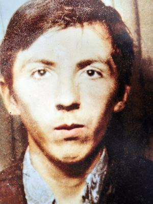 Pacemaker Press 17/6/10 Danny Teggart  who is one  of the 11 people died in the Ballymurphy Massacre in 1971 in West Belfast