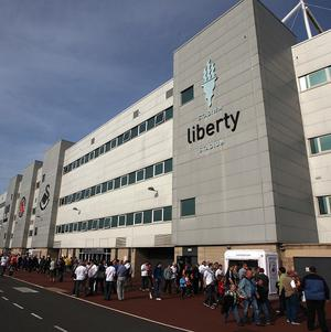 Swansea hope to name a new manager by the end of the week at the Liberty Stadium