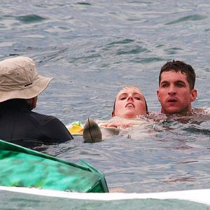 Holly Walsh had to be rescued after being injured while taking part in the Birdman contest