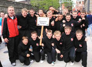 Foyle Cup Opening Parade.