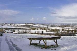 Snow scenes in Co Armagh. By  Alan Hopps, Markethill