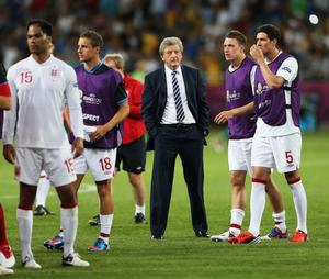 KIEV, UKRAINE - JUNE 24:  England manager, Roy Hodgson looks dejected after the penalty shoot out during the UEFA EURO 2012 quarter final match between England and Italy at The Olympic Stadium on June 24, 2012 in Kiev, Ukraine.  (Photo by Scott Heavey/Getty Images)