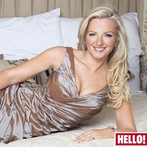 Hello! magazine image revealing Michelle Mone new toned physique