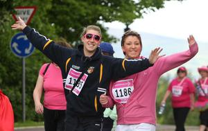 Cancer Research UK  - Race for Life 2010  in the grounds of Stormont Estate