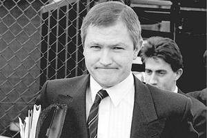 <b>Images from the Belfast Telegraph's Troubles Gallery<b/>The murder of lawyer Pat Finucane by loyalists. 1989