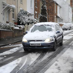 Britain endured its coldest night of the winter on Friday night