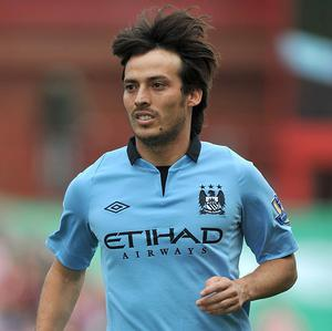 David Silva has not travelled to Germany with the rest of the Manchester City squad