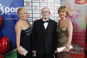 Joanne Armstrong, Gerry Armstrong Snr and Rosaleen Murray.