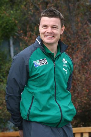 Brian O'Driscoll says the Ireland squad is relaxed but determined