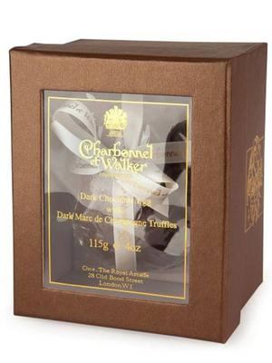<b>Charbonnel et Walker Dark Chocolate Egg with Champagne Truffles £9.99, lakeland.co.uk</b><br/> Filled with handmade Marc de Champagne truffles to die for