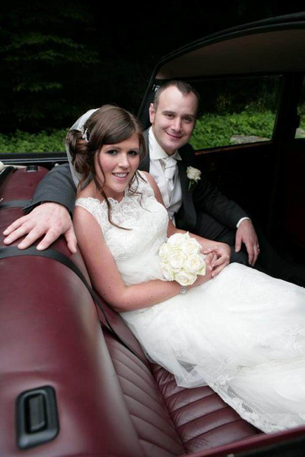 """Holly and Gary McGowan married on 2nd September this year at Whitehead Methodist Church. The couple then honeymooned in South Africa. <p><b>To send us your Wedding Pics <a  href=""""http://www.belfasttelegraph.co.uk/usersubmission/the-belfast-telegraph-wants-to-hear-from-you-13927437.html"""" title=""""Click here to send your pics to Belfast Telegraph"""">Click here</a> </a></p></b>"""