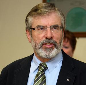 Sinn Fein president Gerry Adams is to contest a parliamentary seat in the Republic of Ireland