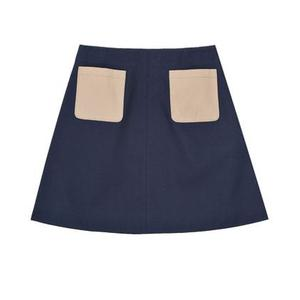 Skirt with patch pockets £59, COS, as before
