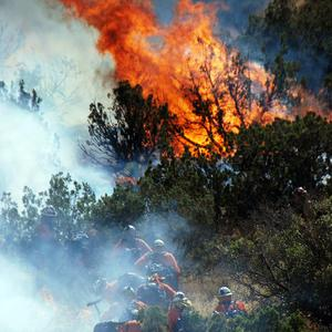 Wildfires are blazing in California