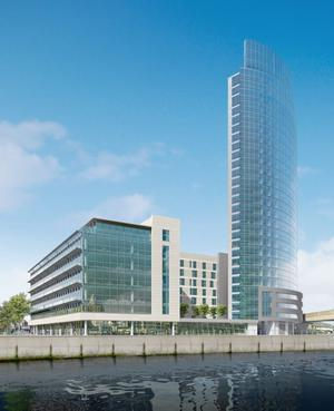 Reach for the skies - Belfast's Obel Tower