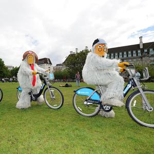 The Wombles have gone for a spin in London