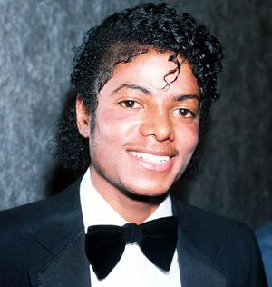 Singer Michael Jackson in 1983 in London.