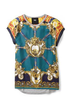 T-shirt £250; by D&G, available at my-wardrobe.com