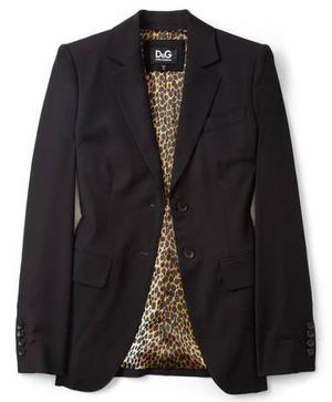 Jacket £465; by D&G, available at my-wardrobe.com