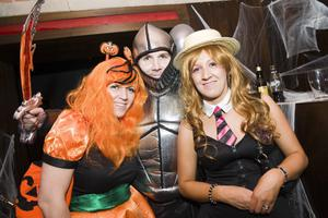 Ollies Halloween Party pictured Beverly O'Neill, Richard McNeill and Noeleen Scullion