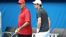 Ivan Lendl (left) is hoping to coach Andy Murray to a Major title