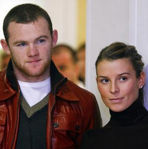Coleen Rooney, the wife of Manchester United and England star Wayne Rooney