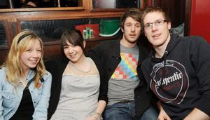 Katie Campbell, Jayne McConaghy, Scott Jamison and Raymond Miller at Ryans Bar and Grill