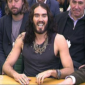 Russell Brand gave his views on drug addiction to the Home Affairs select committee