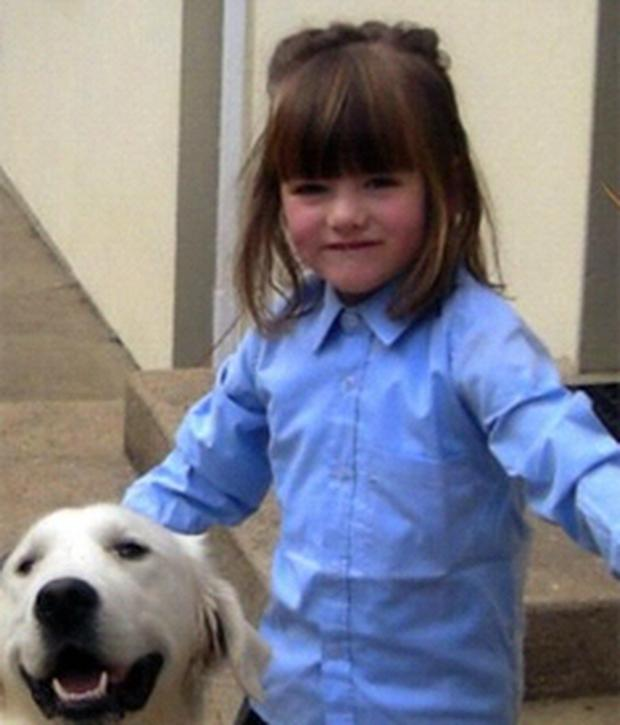 Five-year-old Julie Flood died in the fire started by her father