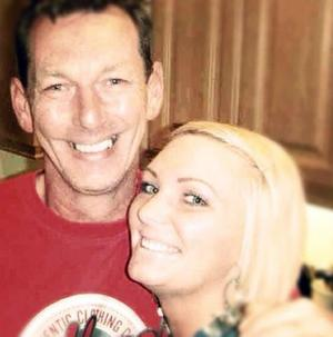 Courtney Reigh and her dad Alan McDonald.