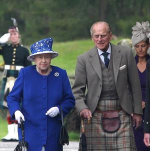 Philip was taken to Aberdeen Royal Infirmary while staying with the Queen at Balmoral