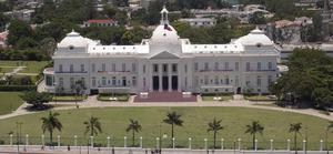 This May 20, 2004 provided by the Canadian Department of National Defence shows the Presidential Palace in Port au Prince, Haiti