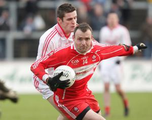 Derry's Paddy Bradley has charted a tortuous journey into tomorrow night's showdown against Donegal