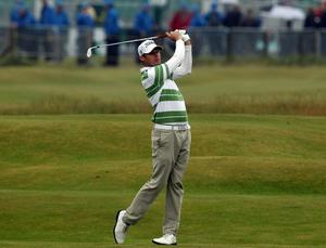 Nick Watney at The Open. July 2010