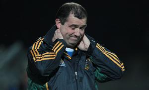 Seamus McEnaney survived in his job as Meath boss but the press had converged awaiting his sacking