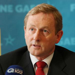 Fine Gael leader Enda Kenny said people in mortgage arrears were crushed and saw no hope for the future
