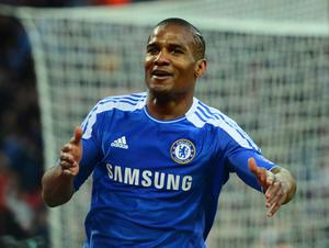 LONDON, ENGLAND - APRIL 15:  Florent Malouda of Chelsea celebrates as he scores their fifth goal during the FA Cup with Budweiser Semi Final match between Tottenham Hotspur and Chelsea at Wembley Stadium on April 15, 2012 in London, England.  (Photo by Mike Hewitt/Getty Images)