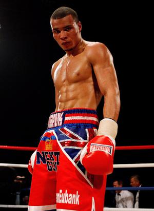 Chris Eubank jnr boxes tonight in the Odyssey Arena