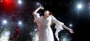Florence and The Machine performing at Belsonic, Custom House Square, Belfast.