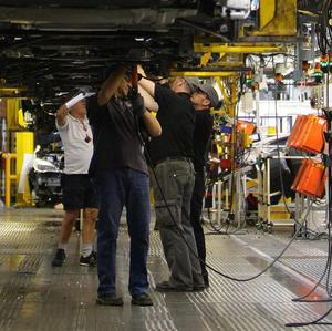 A lack of car parts from Japan has forced General Motors to halt production at a US plant