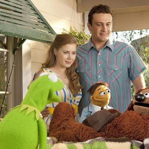 Amy Adams got a personal invite from Kermit to join The Muppets on the big screen