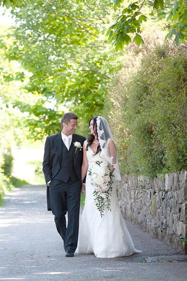"""Hollie Best and Neil Whiteside. The wedding took place at the Old Inn Crawfordsburn on 24th May 2012.  The couple honeymooned in Cancun Mexico.  <p><b>To send us your Wedding Pics <a  href=""""http://www.belfasttelegraph.co.uk/usersubmission/the-belfast-telegraph-wants-to-hear-from-you-13927437.html"""" title=""""Click here to send your pics to Belfast Telegraph"""">Click here</a> </a></p></b>"""