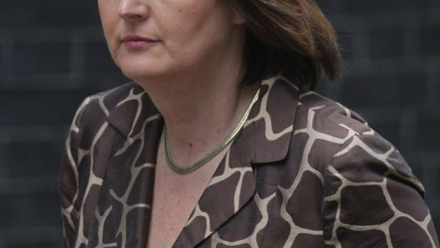 Harriet Harman, Labour's deputy leader leaves Downing Street following a cabinet meeting on May 10, 2010 in London, England